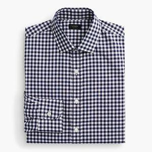 J Crew Ludlow Slim Fit Spread Collar Shirt Gingham